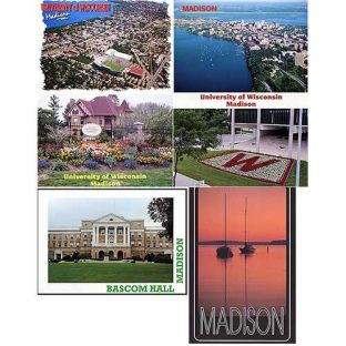 Scenes of Madison Postcards