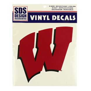 "Wisconsin Badgers 6"" Motion W Decal"