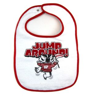 Wisconsin Badgers Infant Jump Around Bib