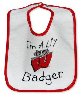 Wisconsin Badgers I'm A Lil Badger Bib