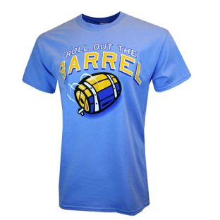 Roll Out The Barrel Blue Milwaukee Inspired T-Shirt