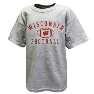 Wisconsin Badgers Youth Distressed Sport T-Shirt