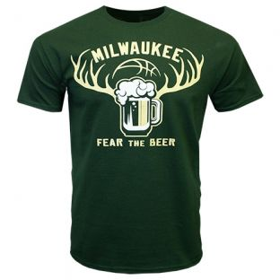 Milwaukee Fear The Beer Tilt T-shirt