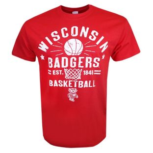 Wisconsin Badgers Basketball NYC T-Shirt