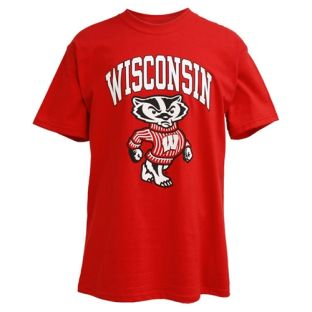 Wisconsin Badgers Arch Full Bucky T-Shirt