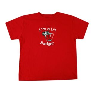 Wisconsin Badgers Toddler I'm a Lil Badger T-Shirt