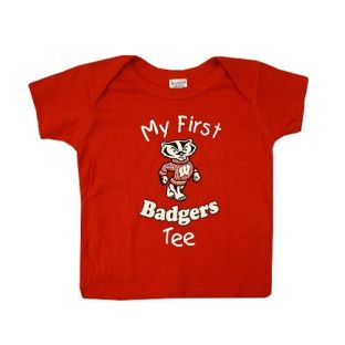 Wisconsin Infant My First Badgers T-Shirt