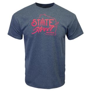 Wisconsin State Street T-Shirt