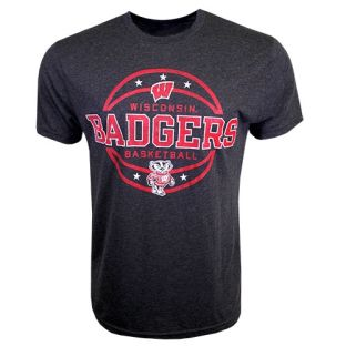 Wisconsin Badgers Basketball Layup Triblend T-Shirt
