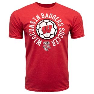 Wisconsin Badgers Soccer Red Assist T-Shirt