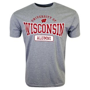 Wisconsin Badgers Alumni Burst T-Shirt