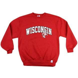 Wisconsin Badgers Youth Bucky Crew Neck Sweatshirt