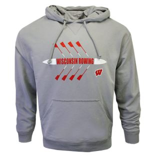 Wisconsin Badgers Storm Rowing Hennepin Hooded Sweatshirt