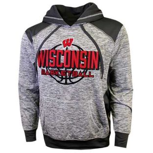 Wisconsin Badgers Basketball Blade Nordic Hooded Sweatshirt