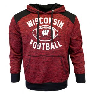 Wisconsin Badgers Football Legend Nordic Hooded Sweatshirt