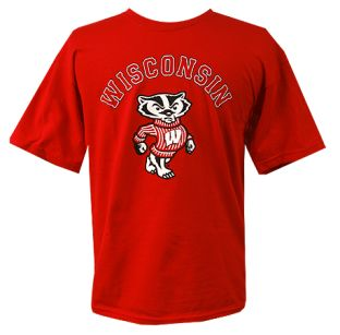 Wisconsin Badgers Youth Arch Bucky T-Shirt