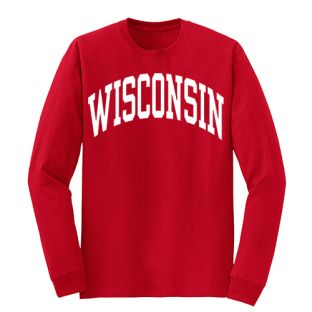Wisconsin Arch Long Sleeve T-Shirt