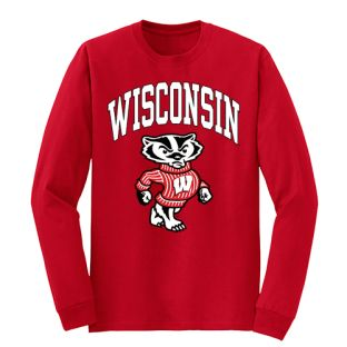 Wisconsin Badgers Full Bucky Long Sleeve T-Shirt