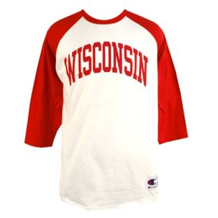 Wisconsin Baseball Style Arch T-Shirt