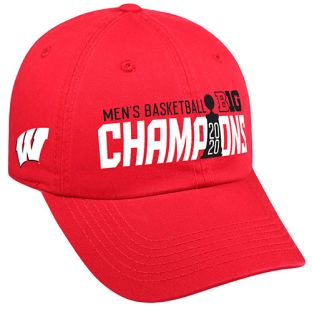 Wisconsin Badgers Basketball 2020 Big Ten Conference Champs Locker Room Cap
