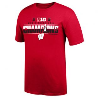 Wisconsin Badgers Basketball 2020 Big Ten Conference Champs Locker Room T-Shirt