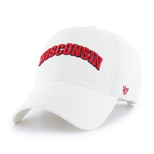 Wisconsin Badgers '47 Brand Arch Script Adjustable Cap
