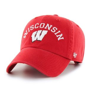 Wisconsin Badgers '47 Brand Classic Arch Adjustable Cap