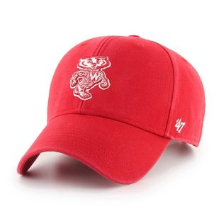 Wisconsin Badgers '47 Brand Red Retro Bucky Legend MVP Adjustable Cap