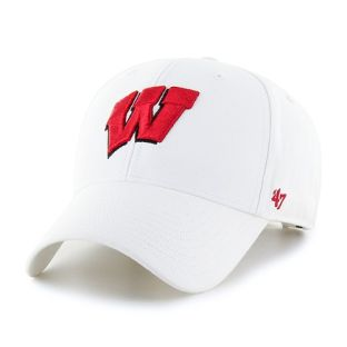 Wisconsin Badgers '47 Brand Motion W Legend MVP Adjustable Cap