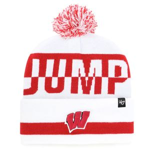 Wisconsin Badgers '47 Brand Jump Around Split Cuffed Knit