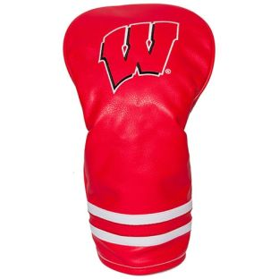 Wisconsin Badgers Vintage Driver Golf Headcover