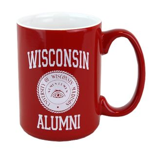 University of Wisconsin Alumni Numen Lumen Mug