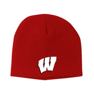 Wisconsin Badgers Adult Cuffless Knit Hat