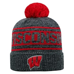 Wisconsin Badgers Sock It To Me Pom Knit