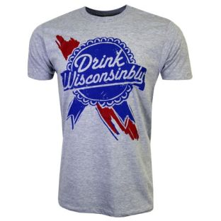 Drink Wisconsinbly Ribbon T-Shirt