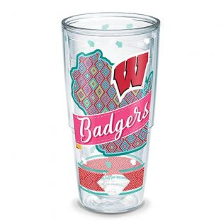 Wisconsin Badgers Tervis 24oz Collegiate Class Tumbler