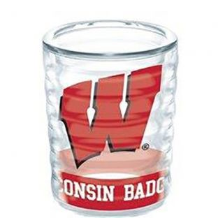 Wisconsin Badgers 2.5oz Collectible Shot Glass