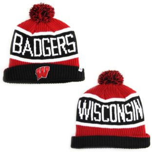 Wisconsin Badgers '47 Brand Calgary Knit Hat