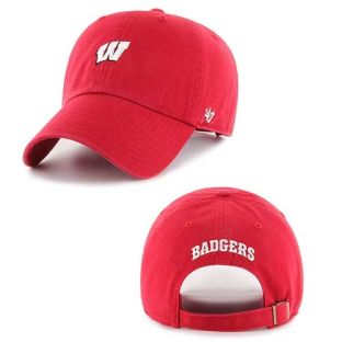 Wisconsin Badgers '47 Brand Small Logo Centerfield Hat