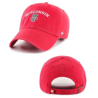 Wisconsin Badgers '47 Brand Arc Bucky Fullback Adjustable Hat