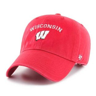 Wisconsin Badgers '47 Brand Arc W Fullback Adjustable Hat