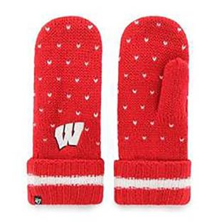 Wisconsin Badgers '47 Brand Women's Red Gigi Mitten
