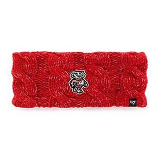 Wisconsin Badgers '47 Brand Women's Red Penelope Headband