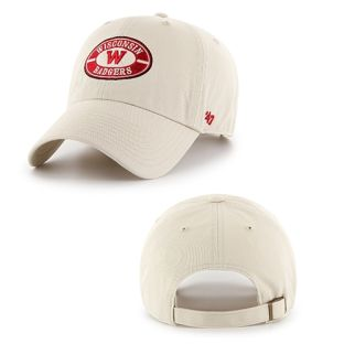 Wisconsin Badgers '47 Brand Retro W Wheelhouse Hat