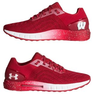 Wisconsin Badgers Under Armour Red HOVR Sonic 2 Shoes