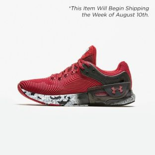 Wisconsin Badgers Under Armour Red HOVR Apex 2 Shoe