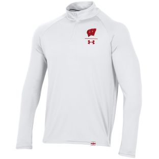 Wisconsin Badgers Under Armour 2020 Sideline Lightweight 1/4 Zip