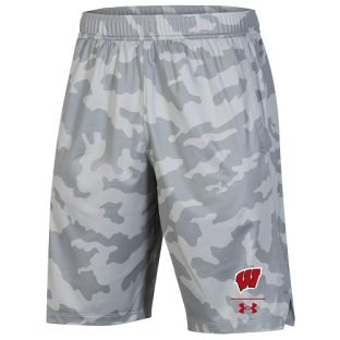 Wisconsin Badgers Under Armour 2020 Sideline Locker Short