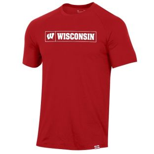 Wisconsin Badgers Under Armour 2020 Sideline Pinnacle T-Shirt