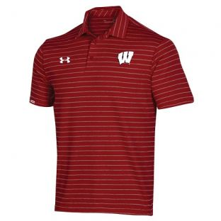 Wisconsin Badgers Under Armour Sideline Easy Polo